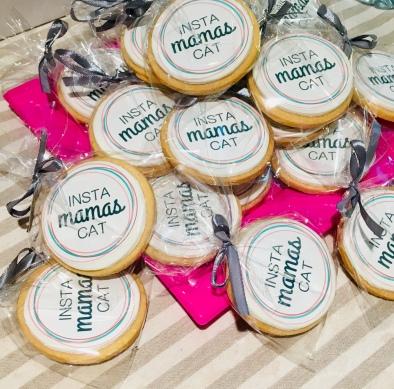 Galletas de Instamamascat hechas por Melao Cakery