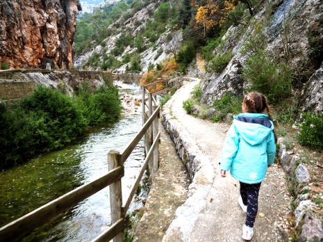 Paseo hacia la cueva picasso