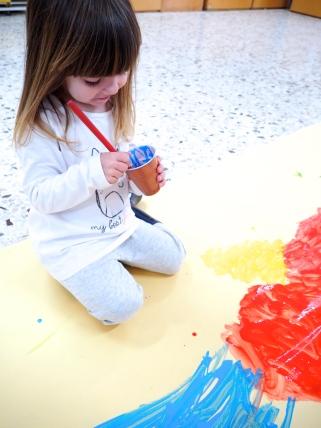 Taller de pintura libre en Els Olivers