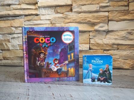 Coco y Frozen títulos de la Editorial Estrella Polar.